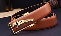 Мужской кожаный ремень Jaguar. Код : Р7, фото 2