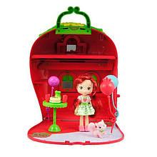 Ігровий набір Шарлотта Суничка Ягідний будиночок з лялькою та аксесуарами