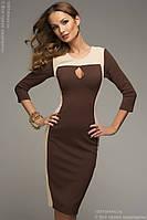 Платье женское  футляр карандаш капля рукав 3\4, фото 1