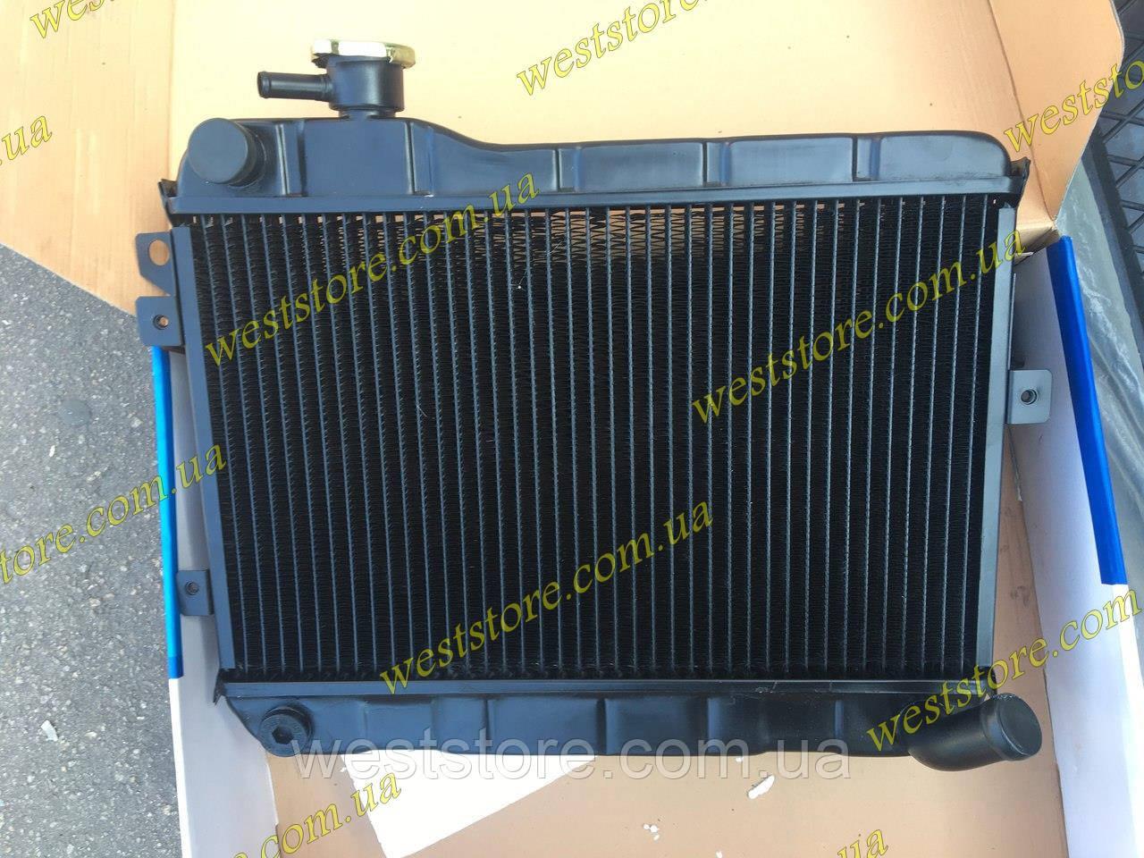 Радиатор охлаждения ваз 2103 2106 Лузар Luzar медный LRc 0106