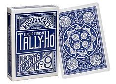 Карти гральні | Tally-Ho Fan Back синя