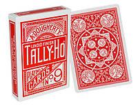 Карты игральные | Tally-Ho Fan Back красная
