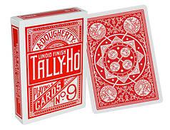 Карти гральні | Tally-Ho Fan Back червона