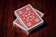 Карты игральные | Tally-Ho Fan Back красная, фото 3