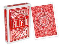 Карты игральные | Tally-Ho Circle Back красная