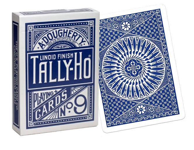 Карти гральні | Tally-Ho Circle Back синя