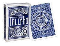 Карты игральные | Tally-Ho Circle Back синяя