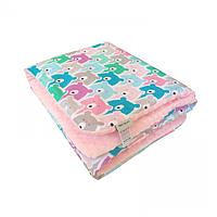 Cotton Living - Детское одеяло Funny Bears Pink