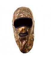 Шапка-маска Tagrider 0916-17 2 отверстия флис + сетка КМФ XL