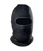 Шапка-маска Tagrider 1068 1 отверстие вязаная черная