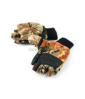Рукавицы-перчатки Tagrider 1063 беспалые флис КМФ XL