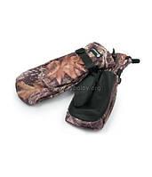 Рукавицы Tagrider 0911-12 КМФ + перчатки флис беспалые XL