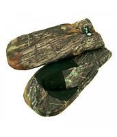 Рукавицы Tagrider 099-10 из кусков натурального меха обшитые L