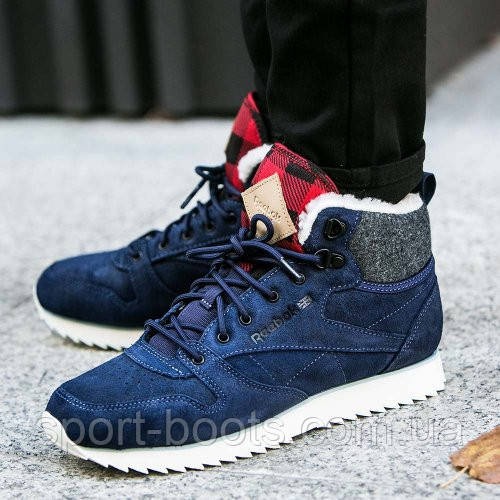 reebok cl leather mid outdoor