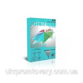 Бумага А4 SPECTRA (80 г/кв.м.) 100 лис., насыщенный синий tourquoise it 220, фото 2