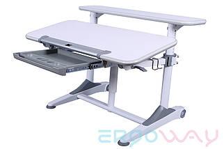 Комплект Детская парта растишка трансформер Ergoway T350L + кресло M350 Gray + ПОДАРКИ, фото 3