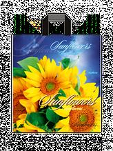 """Пакет з петлевий ручкою середній """"Сонячні квіти"""" (35х38+3)80 мкм 25шт/упаковка"""