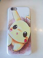Чехол TPU для iPhone 6/6S Pokemon go