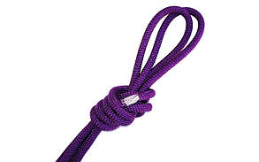 Скакалка Pastorelli New Orleans 3м нейлон 00109 фиолетовая