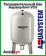 Расширительный бак Aquasystem VSV100 (100 л. вертикальный, фланец 145) белый