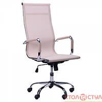 Кресло Слим NET НВ(ХН-633)сетчатая спинка бежевое