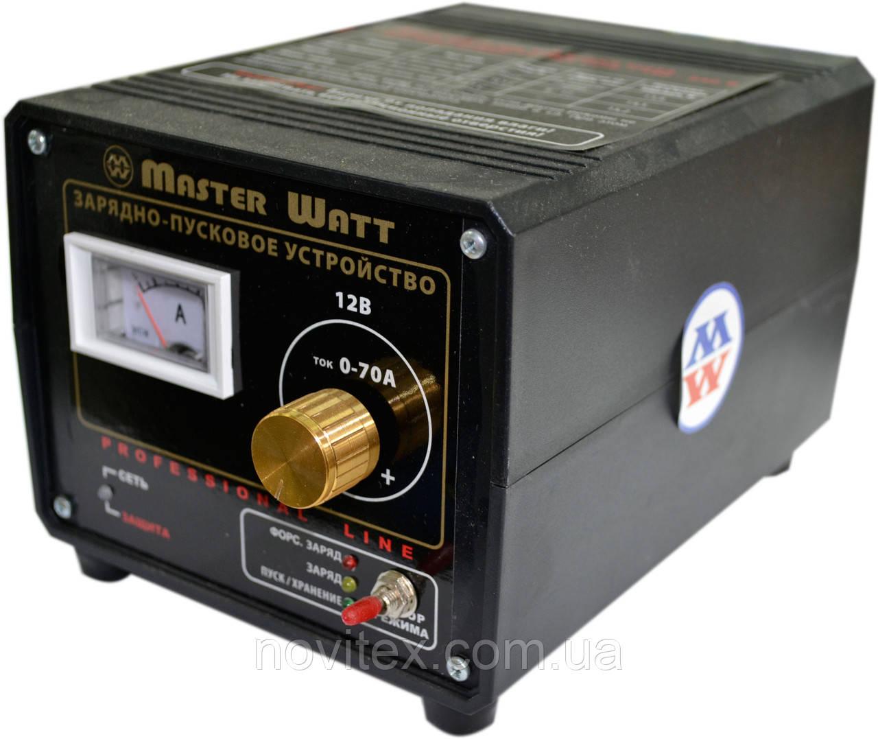 Пуско-зарядное устройство Master Watt 12В 70А 3-х режимное