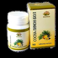 Сосна+лимон-биол таб №90
