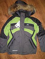 Зимняя куртка (пуховик) на мальчика р98,104,110,116 утеплитель холлофайбер