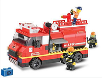 """Конструктор SLUBAN """"Пожарные спасатели"""" 281 деталь арт.M38-B0220"""