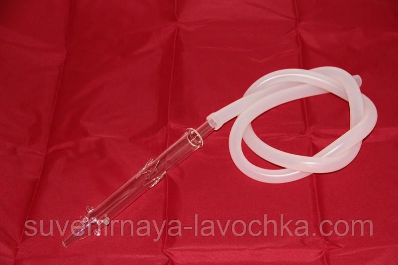 Шланг силиконовый стеклянный, качественный ( 1,5м )