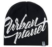 Мужская черная зимняя шапка Urban Planet F26 BLK