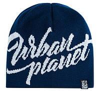 Мужская синяя зимняя шапка Urban Planet F26 NVY