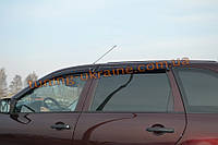 Дефлекторы окон (ветровики Cobra Tuning) для ВАЗ 1117 LADA Калина Универсал 2013+