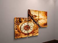 Картина модульная в офис компас