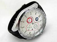 Мужские часы в стиле BMW, белый циферблат, фото 1