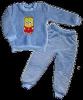 Пижама  махра р. 98-104 см