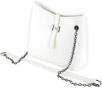Женская компактная сумка через плечо из искусственной кожи Traum 7220-11, белый