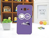 Чехол силиконовый бампер для Samsung S5 Galaxy i9600 с рисунком Миньон Монстр