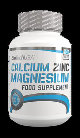 BioTech USA Calcium Zinc Magnesium 100t
