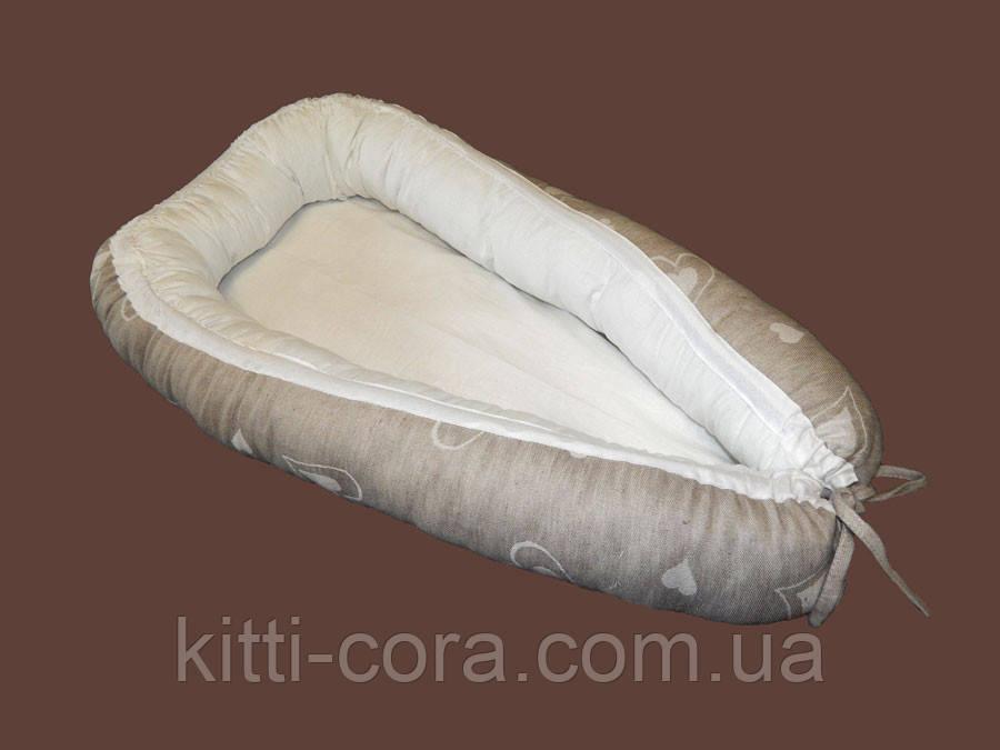 Гнездышко. Кокон. Ограничитель сна для младенца. - Kitti Cora - интернет магазин для мам и малышей в Львове