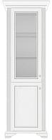 Витрина для гостиной Вайт 1Д1Ш  /  Вітрина для вітальні Вайт 1Д1Ш