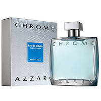 Мужская туалетная вода Azzaro Chrome for Men Eu de Toilette (EDT) 50ml, фото 1