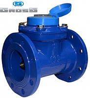 Счетчик Gross WPK-UA 100/250 Ду 100 на холодную воду турбинный