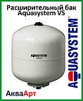 Расширительный бак Aquasystem VS 8 (без ножек, фланец 95) белый