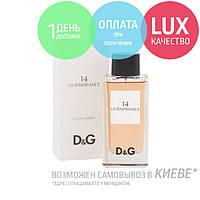 Dolce & Gabbana D&G 14 La Temperance. Eau De Toilette 100 ml / Туалетная вода Дольче Габбана 14 Ла Темперанс 100 мл