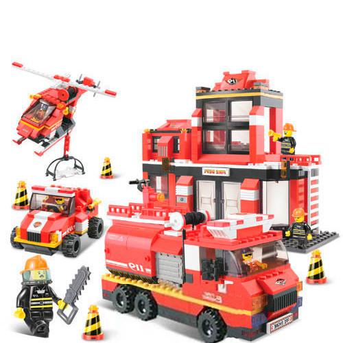Конструктор Sluban Пожарные спасатели
