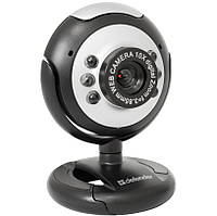 WEB камера Defender C-110 Black/Gray / 0.3Mp / USB2.0 / 640x480 / Микрофон