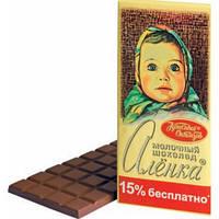 Шоколад Аленка   Красный Октябрь 200 грамм