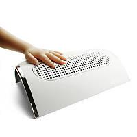 Вытяжка маникюрная на 2 руки 3 вентилятора, вытяжка-пылесос для маникюра SIMEI FEIMEI 858-5