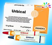 URBICAL, самотвердеющая паста на основе гидроокиси кальция, 13 г база, 11 г катализатор, блокнот